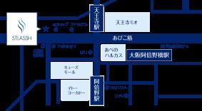 天王寺店地図